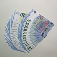 لعبة نسخ ورقة معظم Toy024 الأوراق النقدية / اليورو / الدولار 100 قطعة / الحزمة دعامة الأسرة الولايات المتحدة أطفال وهمية لعب المال واقعية أو uwhxu