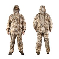 Winter Warm Fleece Hunting Camouflage Suit Bionic Reed Camo Clothing Outdoor Sports Hiking Costume Fishing Hunting Ghillie Suit