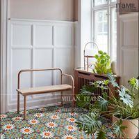 Bathroom tile Nordic corridor door floor tiles kitchen balcony mosaic anti skid wear 200 mm