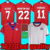 Nyaste Chile Soccer Jersey Brereton Diaz 22 Toppkvalitet Chilean Home Away Chile Local 21 22 Vidal Alexis Sanchez Felipe Mora Erick Pulgar Football Jerseys