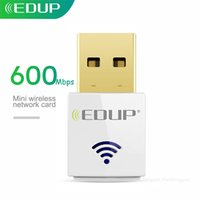 EDUP 600Mbps Dual Band Mini USB WiFi Adapter 802.11ac 5Ghz Wireless USB WiFi Dongle Receiver Network Card for Desktop Laptop