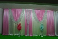 3MX6M New Design Sequin swags wedding backdrop curtain event party celebration Fabric stage background drapes wall decoration