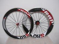 WheelSet Sram S60 60mm + S80 88mm CLINCHER 700C Alliage de carbone Roues de vélo de route