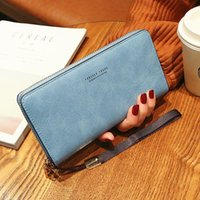 Wallets Wallet Women Mobile Phone Bag Brand Designer Female Card PU Leather Long Womens And Purses Ladies Slim Holder Purse