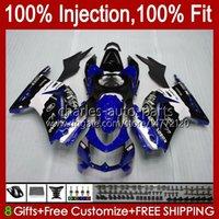 Injeção para Kawasaki Ninja ZX250R EX250R ZX-250 ZX 250R 13HC.34 New Blue BLK ZX250 2009 2010 2011 2012 2011 EX250 08 09 10 11 12