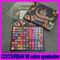 .Cocourban 99 couleurs ombre à paupières mate paillettes paupières paupières facile à colorer paillettes faciles à colorier poudre beauté beauté maquillage cosmétique