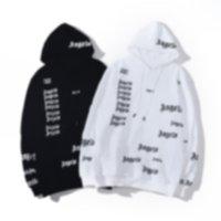 Designer homens corporal de barragem plena letras cópia encapuçado moletom hip hop moda oversize pa hoodie mate mulheres anjo camisolas decapitated hoodies