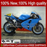 OEM Bodys For SUZUKI glossy blue new SRAD TL1000R TL-1000R TL1000 R 98 99 00 01 02 03 Bodywork 19HC.89 TL 1000R 98-03 TL-1000 TL 1000 R 1998 1999 2000 2001 2002 2003 Fairing Kit