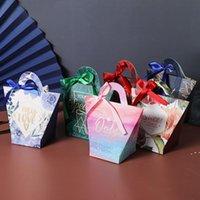 T-şekilli Kolu Şeker Çanta Bebek Duş Kağıdı Çikolata Kutuları Doğum Günü Düğün Şerit Olmadan Şeker Kutuları Şekeri BWA4175