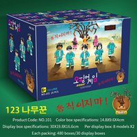 TV Squid Game 123 Wooden Toy Figurine Blind Box Boy Teenage Students Birthday Christmas Gift Gaming Accessories Set of 8 Boxes DHL