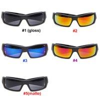 الصيف النمط الكلاسيكي الرجال النظارات النظارات انبهار اللون نظارات الشمس في الولايات المتحدة الأمريكية الأسود الإطار الاكريليك اللهب عدسة تصميم بارد صامت الشمسية دراجة دراجة نارية