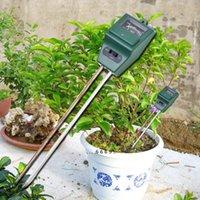 جديد وصول 3 في 1 درجة الحموضة اختبار التربة كاشف المياه الرطوبة ضوء الرطوبة اختبار متر الاستشعار لحديقة مصنع زهرة FWA4216