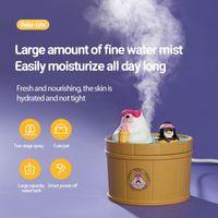 Fragrance Lamps Polar Bear Humidifier Air Essential Oil Diffuser Japanese-style Spring Mist Maker Fogger Aromas Machine Room Decor