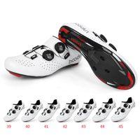 Ciclismo Calzado Boodun Zapatos Bicicleta Atlética MTB Hombres Auto-bloqueo de la bicicleta Zapatillas de deporte