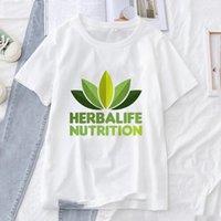 Trendy Casual Women's T-Shirts Herbalife Nutrition Women Men Graphic Ulzzang Tees Shirt Harajuku Fashion All-match Tops Clothing