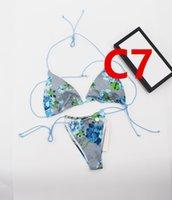 "Womens Bikini Sexy Beach Bikinis Summer Splits Swimsuit GG""LV""Louis…Vitton""YSL…VUTTON n Letter Printed Strappy Siamese Split Swimwear One Piece"