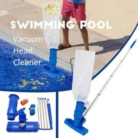 Pool & Accessories Cleaning Tool Portable Swimming Vacuum Head Cleaner Brush Sweep Handbroom Brushes Cleanin Spring