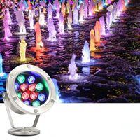 Hawboirry 저전압 12V LED 다채로운 수중 조명 수영장 물고기 연못 분수 rockery 풍경 조명