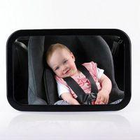 """OTROS ACCESORIOS INTERIORES BLACK Shell Baby Car Car Mirror Backseat Vista posterior Asistente ASISTENTE ASISTENTE ASISTENTE ASIENTO DE SEGURIDAD PARA NIÑOS 29 x 19cm / 11.4 7.48 """""""