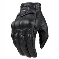 Motorcycle Gloves men women moto leather Carbon cycling winter gloves motorbike motorcross ATV motor