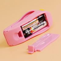 Accessori da cucina Strumenti Mini clip da cucina portatile Clip di calore sigillatrice sigillatrice Home Snack Bag Sealer Utensili da cucina Utensili gadget Articolo. # ERT 52 S2