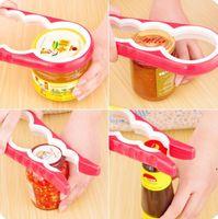 المطبخ يمكن فتاحة فتح فتات الزجاجة المحمولة jar يمكن فتاحة زجاجات قابل للتعديل فتاحة زجاجات متعددة الوظائف أداة الفتاحات اليدوية AHE5120