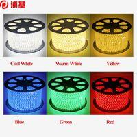 100m 85V-265V double row 120LED M SMD 5730 3014 2835 5050 led strips fit led strip light waterproof flexible ribbon rope white warm