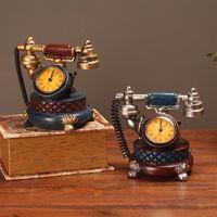 لطيف خمر mrchanism ساعة ساعة الخشب البطارية الرقمية مكتب مكتب ساعة خمر ديكور فاخر reloj دي ميسا الجدول الساعات BW50ZZ