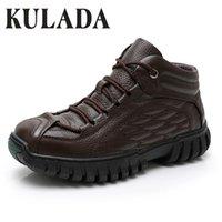 Kulada Sıcak Süper Sıcak Hakiki Deri Kış Ayakkabı Askeri Kürk Çizmeler Erkekler Için Ayakkabı Zapatos Hombre 210312