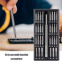Professional Hand Tool Sets 63Pcs Phone Laptop Repair Set Torx Screw Driver Bit Sleeve Electronics Camera Watch Fixing Kit Accessories