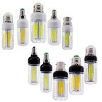 Ampuller Yoryzeng LED COB Mısır Ampul 12 W 16 W E27 E12 E26 E14 B22 Beyaz Işık 60 W 80 W Akkor Lambası Ev Avize Dekor Ampoule