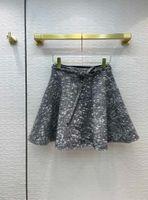 2021 Spring Autumn Winter Milan Designer Skirts Fashion A Skirts Women Brand Same Style Skirts 0925-9