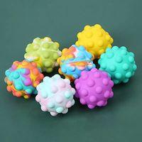 3D Fidget Zabawki Push Bubble Ball Gra Sensory Toy Dla Autyzm Specjalne potrzeby ADHD Squishy Stres reliever Kid Funny Anti-stres