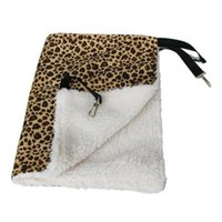Cat Beds & Furniture Warm Hanging Bed Mat Soft Hammock Winter Pet Kitten Cage Cover Cushion Air Products