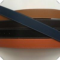 Высокое качество натуральные кожаные ремни для мужчин Женские ремень мода пряжка с коробкой пояса коробки