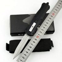 Benchmade BM 3300 Infidel 자동 칼 앞면 더블 액션 자동 D2 스피어 포인트 일반 전술 EDC 서바이벌 나이프 3310 3350 3320 3400 3551 C81 BM3300 도구