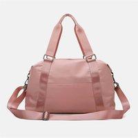 50%off LU-203 Hand Yoga Bag Female Wet Waterproof Large Luggage Bag Short Travel Bag 50*28*22 High Quality5pcs