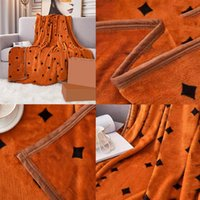Mais novo Carta Designer cobertores Casa sofá-cama capa flanela quente lance cobertor quatro estações 150 * 200 cm