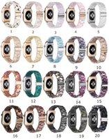 Atacado para Apple Watch Band Arco-íris Smart Strap Design Silicone Pulso de Pulso Série de Substituição Iwatch SE 6 5 4 3 2 1 38mm 40mm 42mm 44mm Fivela Durável Navio Livre