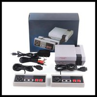 Mini TV can store 620 500 Game Console Video Handheld for NES games consoles with retail boxs dhl