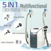 Tecnologia de alta tecnologia 40K Cavitação emagrecimento ultra-sônico RF tratamento rápido sistema de forma de corpo do sistema de congelamento