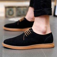 2019 Venda Quente Mens Sapatos Casuais Nova Moda Casual Sólido Lace Up Oxfords Couro Shoes Masculino Negócio Sapatenis Masculino M4VX #