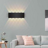 Outdoor Wall Lamps Waterproof LED 8W Up Down Porch Lights Indoor Mount Light For Garden Yards Pathway Bedroom Lighting