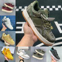 2021 Mens Womens Koşu Açık Ayakkabı Kapalı MCA Moma Düşük Gölge Tropikal Clot Premium Ipek Oyunu Kraliyet Büküm Eğitmenler Yardımcı Programı Tüm Siyah Hız Moda Spor Sporları Sneakers