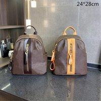Moda Luxo School Bags Designer Mulheres Mochilas Bolsas Laptop Bag Ombro Bag Tamanho Médio Bolsas Impresso Flores Alta Qualidade