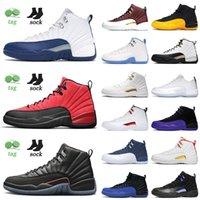Air Jorden 12 12s retro scarpe da basket retrò Grind game game jumpman jordan xii università blu la master ball jordan12s formatori scarpe da ginnastica da sneakers da esterno taglia 13