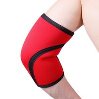 Elbow & Knee Pads 7mm Neoprene Weightlifting Support Brace Thicken For Crossfit Powerlifting Fitness Compression Protector Sleeve