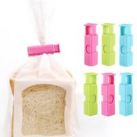 Clip de sellado de pan multiusos Selling Clip de sellado para tostadas Bolsa de alimentos Tipo de bloqueo Tipo de presión de plato de conservación de alimentos
