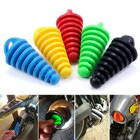 1PC Exhaust Pipe Cleaning Plug Motorcycle Motocross Tailpipe Rubber Air Bleeder Plugs Wash Tool Protector