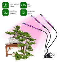 Grow Lights for Indoor Plants Full Spectrum 60LED Plant Growing Lamps Two Head Dimming Timing for Seed Starting Succulent Plants Growth,